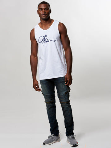 Signature Tank Top- White
