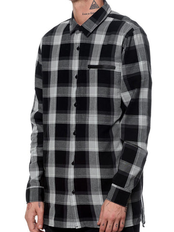 Point Flannel - Black