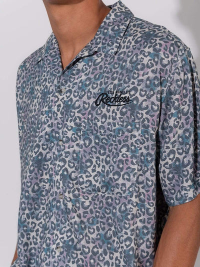 Young and Reckless Mens - Tops - Buttoned Tops Safari Button Down - Multi