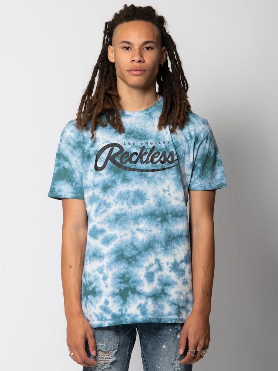 Against Odds Tee - Mint Tie Dye