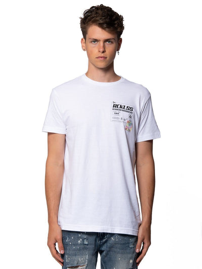 Young and Reckless Mens - Tops - Graphic Tee Altitude Tee - White