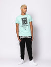 Young and Reckless Mens - Tops - Graphic Tee Angelino Tee - Ice