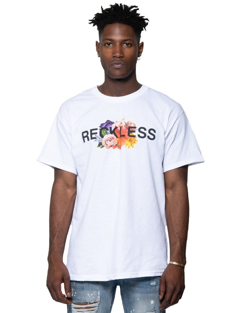 6a03a0cc4724 Young and Reckless Mens - Tops - Graphic Tee Aroma Tee - White S / WHITE