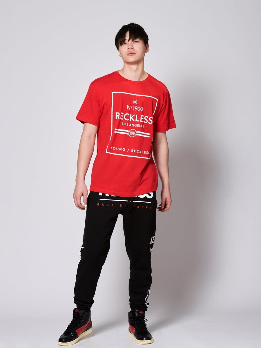 Young an Reckless Mens - Contraband Tee - Red/White