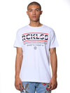 Young and Reckless Mens - Coordinates Tee - White