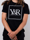 Young and Reckless Mens - Tops - Graphic Tee Core Box Logo Tee - Black