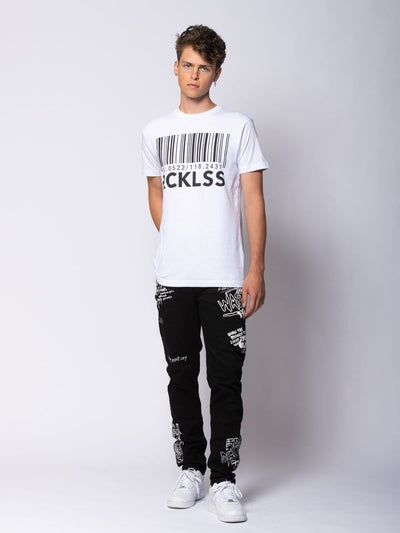 Young and Reckless Mens - Tops - Graphic Tee Identity Tee - White