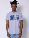 Young and Reckless Mens - Tops - Graphic Tee - LA Vintage Tee - Heather Grey