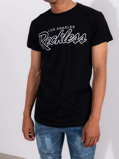 Young and Reckless Mens - Tops - Graphic Tee OG Reckless Tee - Black