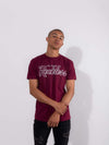 Young and Reckless Mens - Tees - Graphic Tee OG Reckless Tee - Burgundy