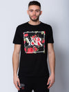 Young and Reckless Mens - Tops - Graphic Tee Verdant Tee - Black