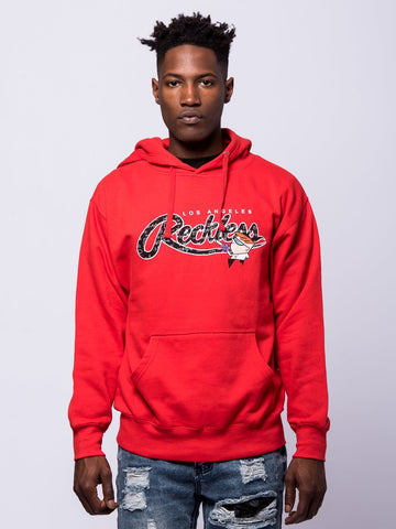 Young and Reckless Mens - Tops - Hoodies Calculations Hoodie - Red