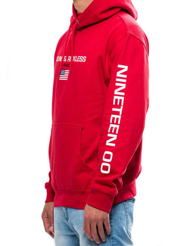 Charter Hoodie- Red
