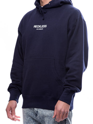 Young and Reckless Mens - Tops - Hoodies Classic Hoodie- Navy