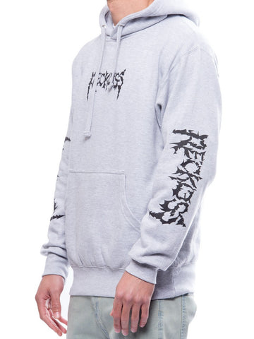 Young and Reckless Mens - Tops - Hoodies Downfall Hoodie- Heather Grey