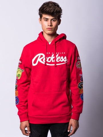 Young and Reckless Mens - Tops - Hoodies Endeavor Hoodie- Red