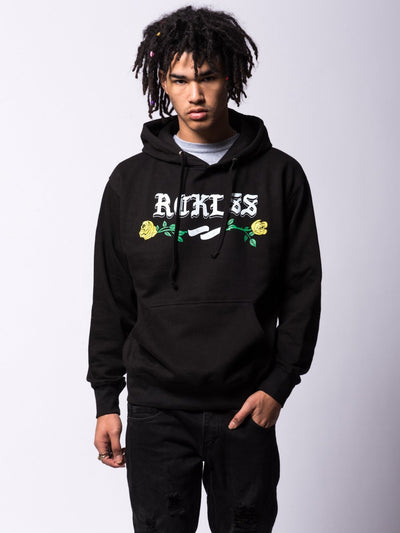 Young and Reckless Mens - Tops - Hoodies Entwined Hoodie - Black