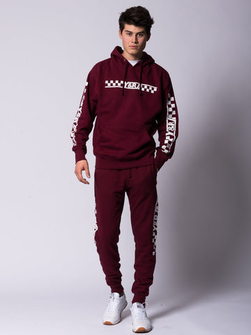 Excursion Hoodie - Burgundy