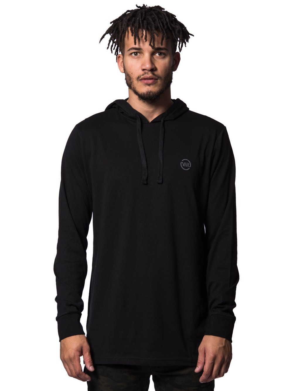 Young and Reckless Mens - Tops - Hoodies Faction Hoodie- Black