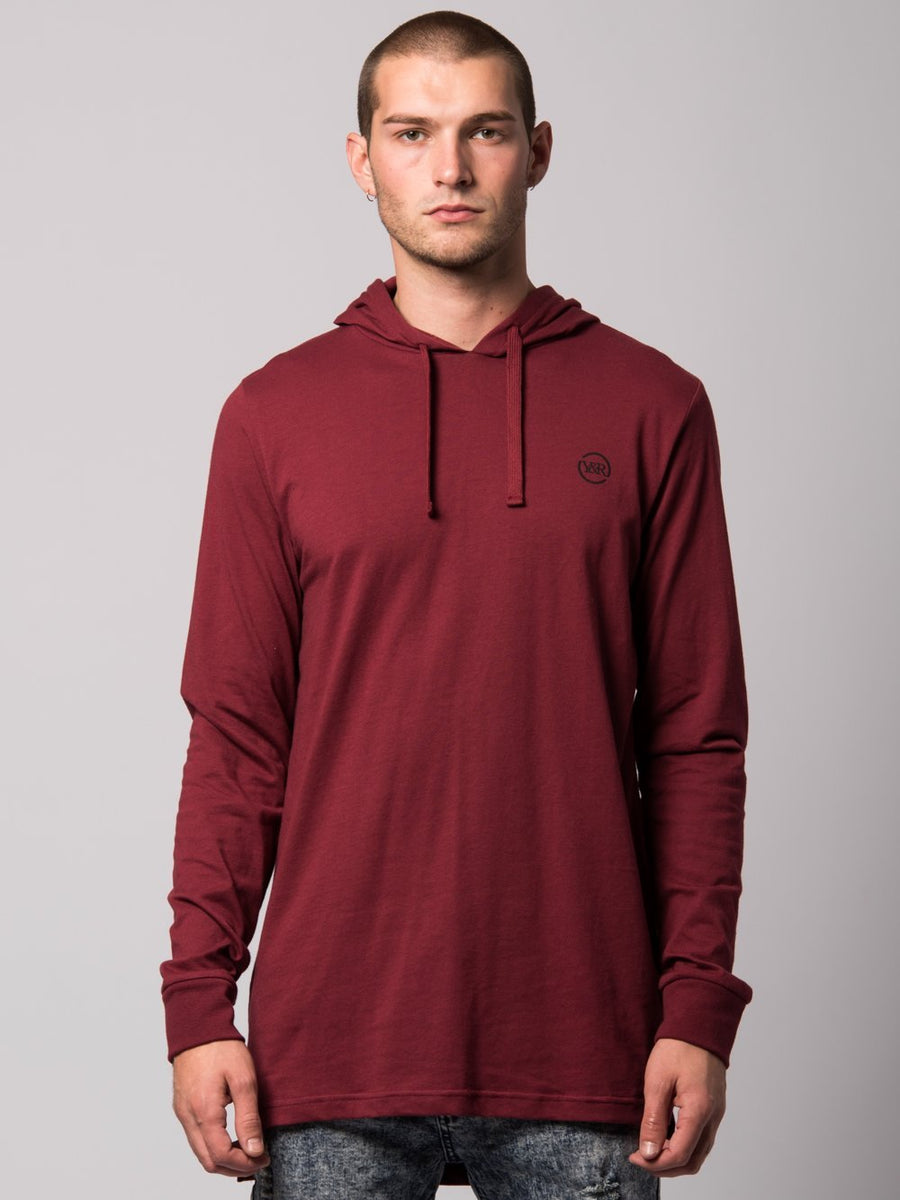 Faction Hoodie- Burgundy
