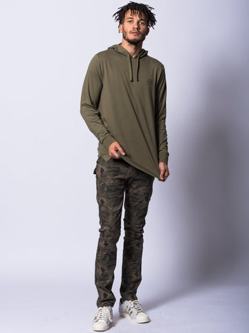 Faction Hoodie- Olive