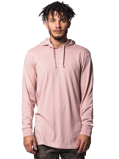 Young and Reckless Mens - Tops - Hoodies Faction Hoodie- Rose