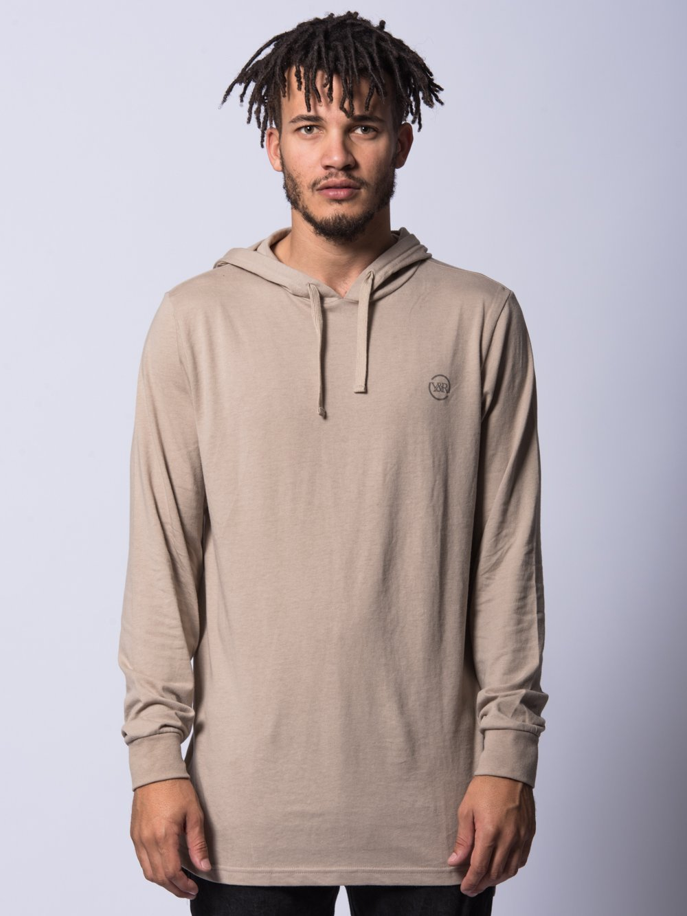 Young and Reckless Mens - Tops - Hoodies Faction Hoodie- Sand