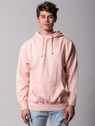 Young and Reckless Mens - Tops - Hoodies Fury Hoodie - Peach