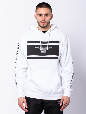 Incorporated Hoodie - White