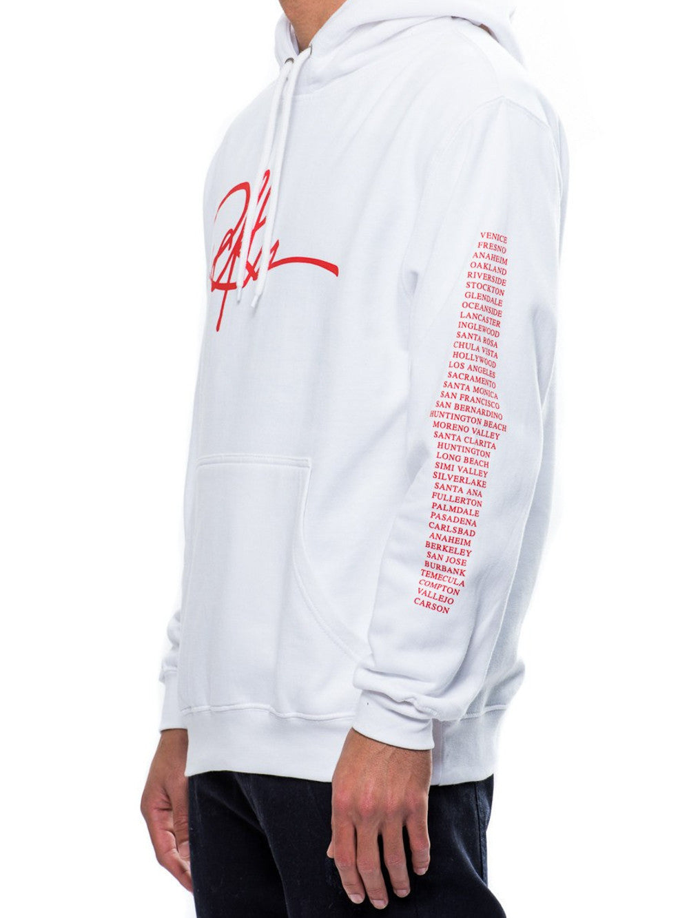 Young and Reckless Mens - Tops - Hoodies Insignia Hoodie- White
