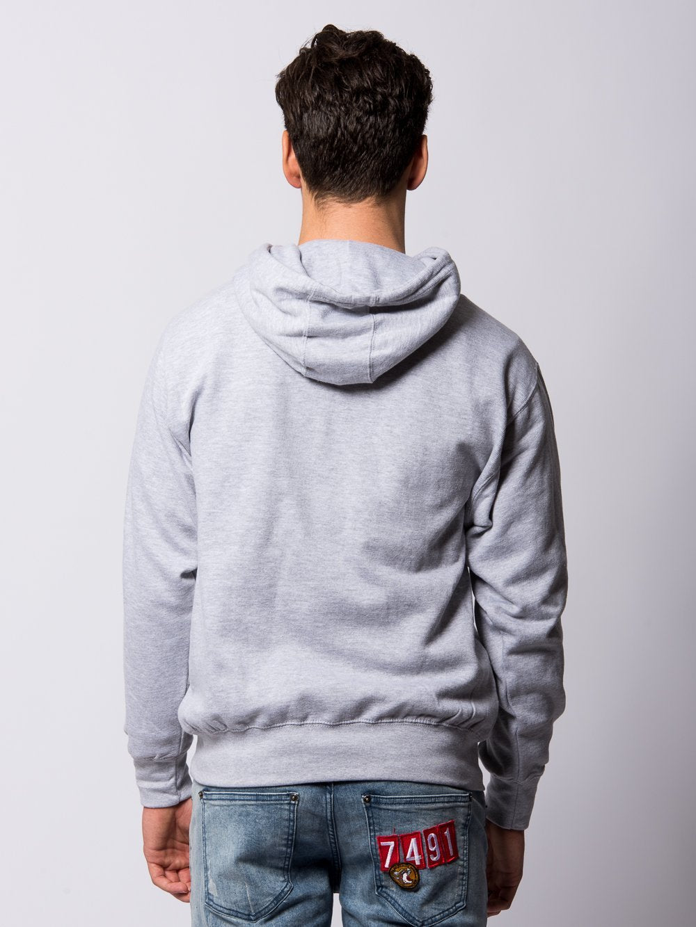 Young and Reckless Mens - Tops - Hoodies Ivy Hoodie - Heather Grey