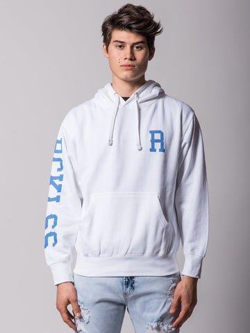 Young and Reckless Mens - Tops - Hoodies Lane Change Hoodie - White