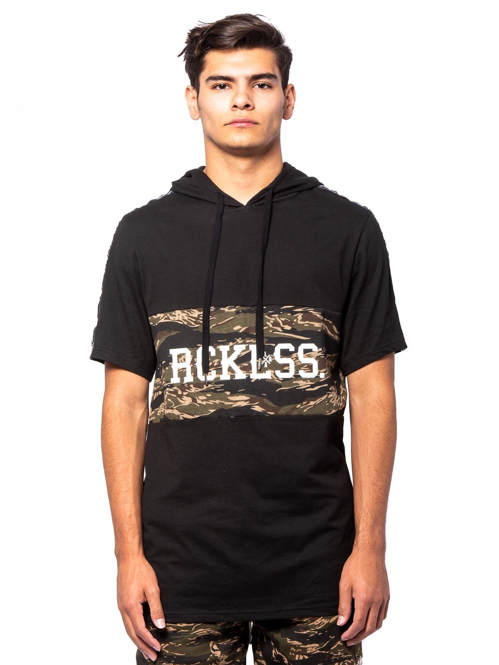 Young and Reckless Mens - Tops - Hoodies Lane Change Unify Hoodie - Black