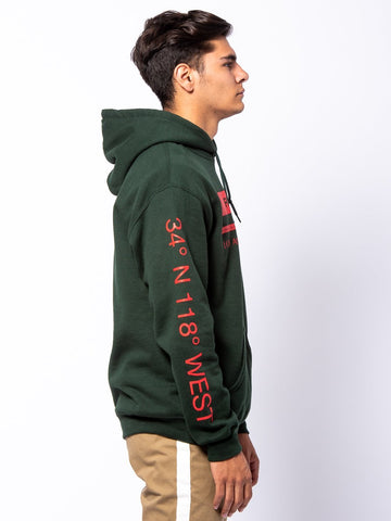 Le Grand Hoodie - Forest Green