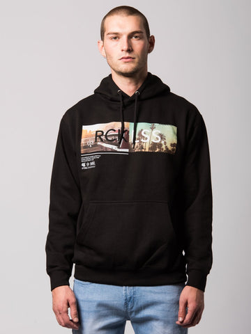 Young and Reckless Mens - Tops - Hoodies Mind State Hoodie- Black