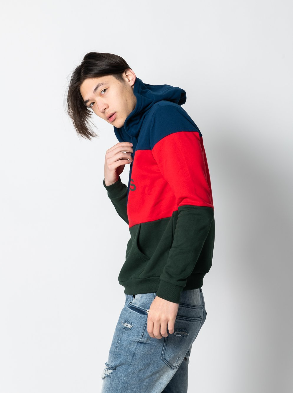 Young and Reckless Mens - Tops - Hoodies Mondrian Hoodie - Multi