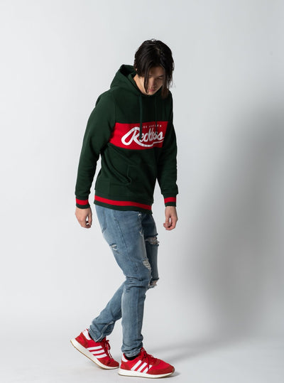 Young and Reckless Mens - Tops - Hoodies Opulent Hoodie - Forest Green