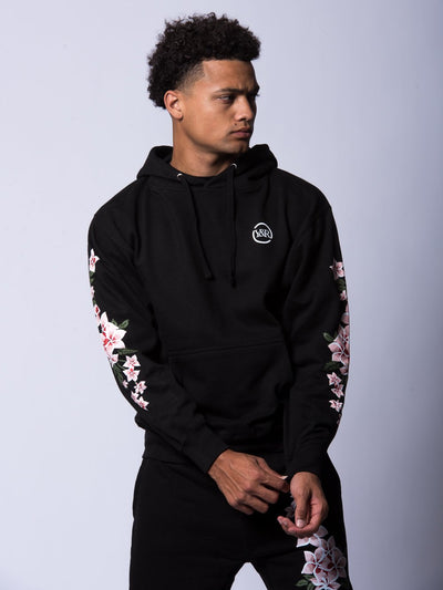 Young and Reckless Mens - Tops - Hoodies Orchid Hoodie - Black