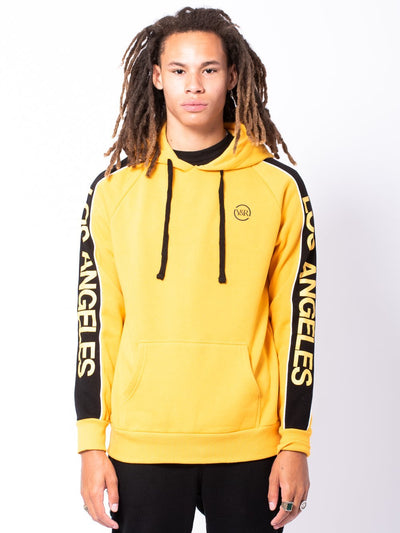 Young and Reckless Mens - Tops - Hoodies Quest Hoodie - Gold
