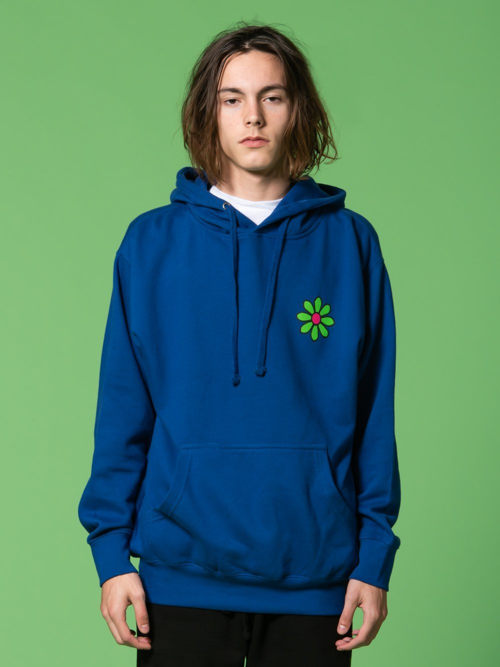 Young and Reckless Mens - Tops - Hoodies RCKLSS X PRDY GNG Radical Love Hoodie - Blue