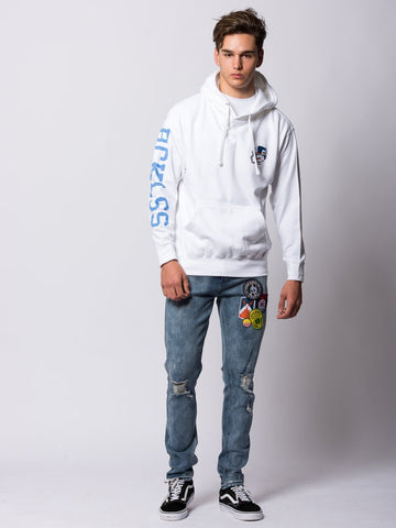 Royal Flush Hoodie - White
