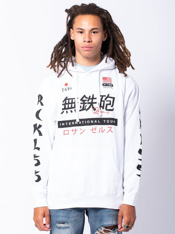 Young and Reckless Mens - Tops - Hoodies Shibuya Hoodie - White