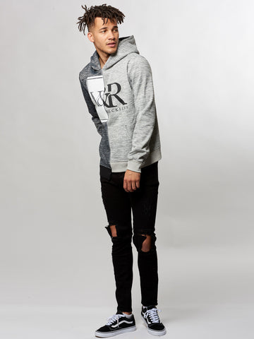 Young and Reckless Mens - Tops - Hoodies Spectre Hoodie- Heather Grey