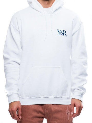 Young and Reckless Mens - Tops - Hoodies Straight Up Hoodie- White