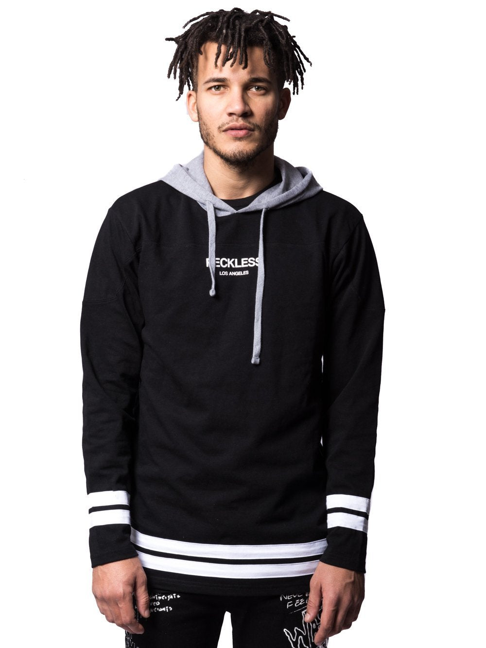 Young and Reckless Mens - Tops - Hoodies Third Period Hoodie - Black ... 658bb1164