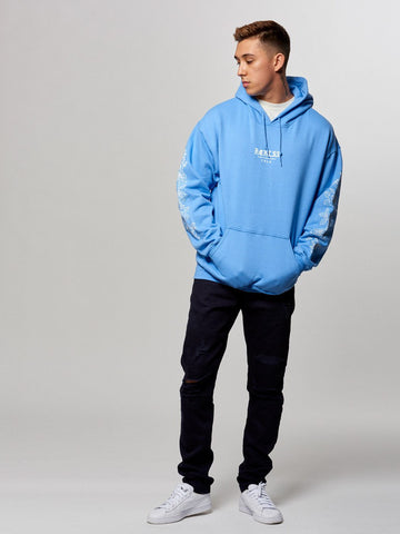 Thrive Hoodie- Carolina Blue