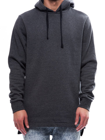 Young and Reckless Mens - Tops - Hoodies Under the Radar Hoodie- Charcoal
