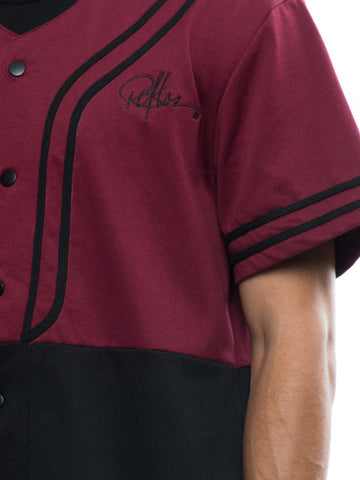 Winners Jersey - Burgundy/Black