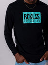 Young and Reckless Mens - Tops - Long Sleeve Concise Long Sleeve - Black