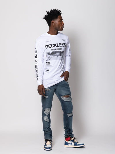 Young and Reckless Mens - Tops - Long Sleeve Crisis Long Sleeve Pack - Multi